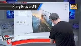 Sony Bravia A1 Unboxing: Luxus-OLED-TV auspackt