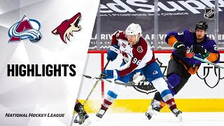 Avalanche @ Coyotes 2/27/21 | NHL Highlights by NHL