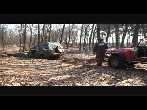 Overloon 4x4 rijden anvt circuit duivenbos 27-03-2011