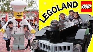 びしょぬれ海ぞく船アトラクション&ドライビングスクール!LEGOLAND