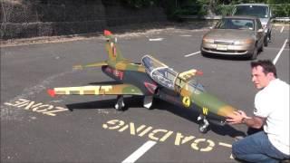 Giant Scale Skymaster BAE Hawk w/ KING TECH 310 Jet engine