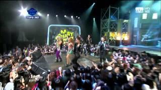 2NE1 - Ugly : ComeBack Stage (Aug,4,2011)