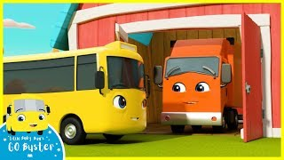 Hide and Seek with Friends | Go Buster | Baby Cartoons | Kids Videos | ABCs and 123s
