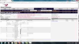 Direct Athletics EVSC Tutorial