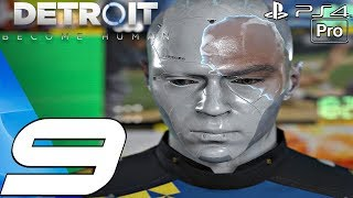 Detroit Become Human - Gameplay Walkthrough Part 9 - Stratford Tower & The Bridge (PS4 PRO)