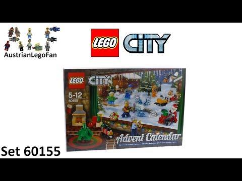 Vidéo LEGO City 60155 : Calendrier de l'Avent LEGO City 2017
