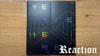 Unboxing  Reaction | MONSTA X Vol. 2 TAKE.2 - WE ARE HERE (Version I + II + III + IV)