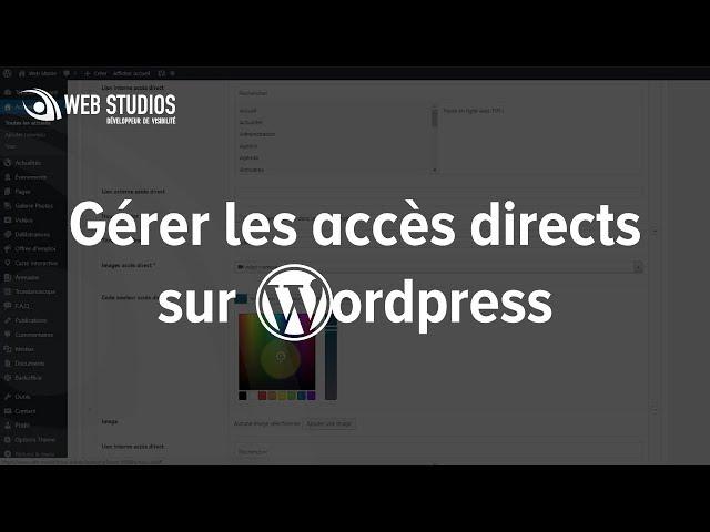 Gérer les accès direct sur WordPress