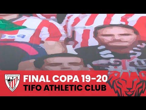 🔴⚪ Athletic Club's  La Cartuja tifo I Copa 2019-20