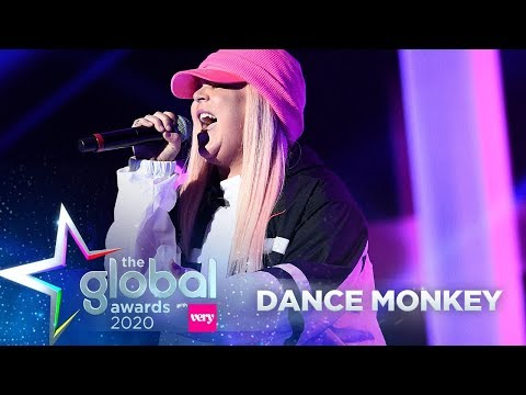 Tones and I - 'Dance Monkey' (Live at The Global Awards 2020) | Capital
