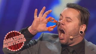 America's Got Talent 2016 - Most Dangerous Acts of the Year - Part 3