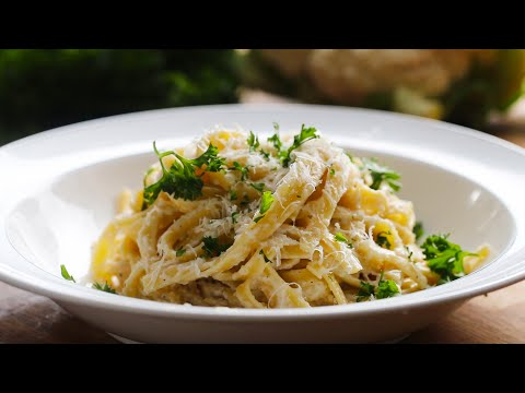 Cauliflower Alfredo (Caulifredo)