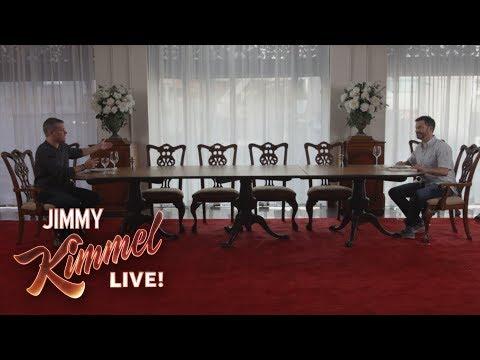 Nepříjemná večeře s Mattem Damonem a Jimmym Kimmelem