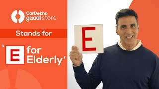 Watch Akshay Kumar stand with CarDekho Gaadi Store in its newest campaign!