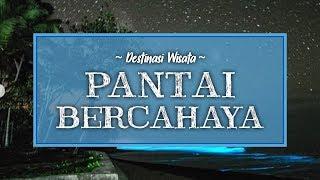 Ada Fenomena Langka Air Laut Bercahaya di Pantai Lampung, Foto-fotonya Viral di Medsos