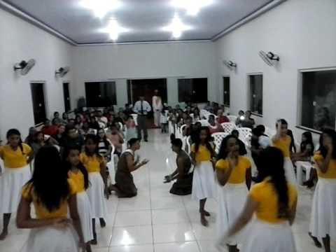 Coreografia Paulo e Silas na Congregação de Vila Borges em Poção de Pedras-MA