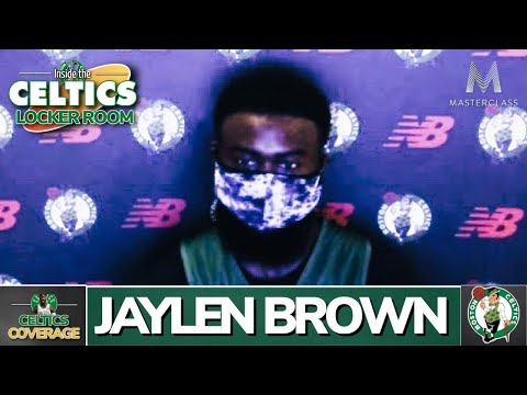 Jaylen Brown on Black Lives Matter and Breonna Taylor (WED Presser)