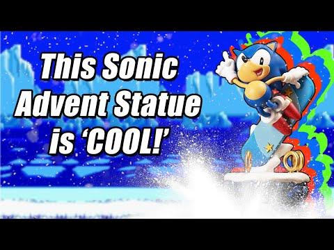 , title : 'Sonic The Hedgehog Advent Calendar Ice Cap Statue Unboxing & Review'