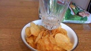 чипсы, смотри как нужно их есть