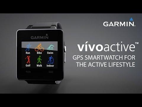 Garmin vívoactive™: GPS Smartwatch for the Active Lifestyle
