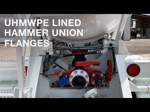 UHMWPE Lined Hammer Union Flange