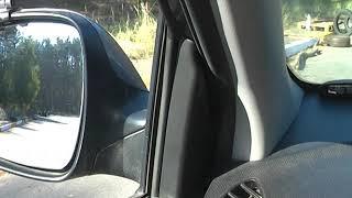 Как ровняться задом машины с углом препятствия
