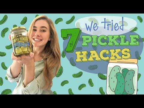 7 Weird Pickle Hacks You Should Try ASAP   Pickle Beer?   We Tried It