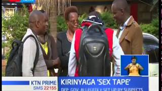 One of the suspects involved in sex scandal of Kirinyaga DG, peter Ndambiri arrested
