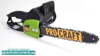 Цепная электропила Procraft К 2350 Профи (Германия) от компании electro-instrument - видео