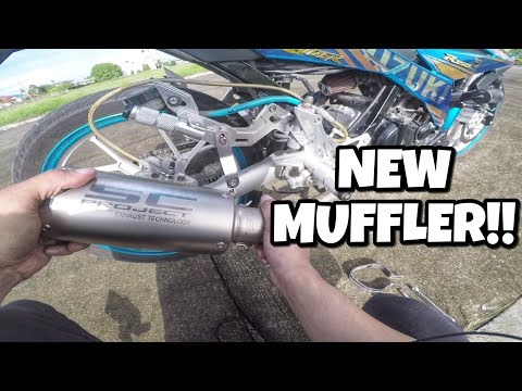 SC PROJECT EXHAUST MUFFLER SOUND TEST   Suzuki Raider R150 Fi