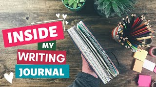 Inside My Writer's Journal | A Flip Through