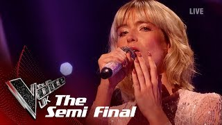 Molly Hocking's 'I'll Never Love Again' | The Semi Finals | The Voice UK 2019