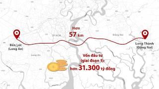 Cao tốc Bến Lức - Long Thành 31.000 tỷ đã hoàn thiện 80%