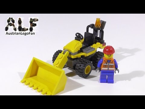 Vidéo LEGO City 7246 : La mini-pelleteuse