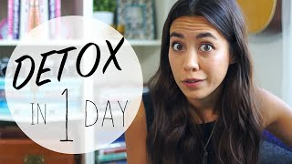HOW TO: Detox Your Body In 1 Day!