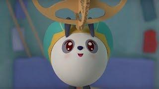 Малышарики - Замок  - серия 134 - Обучающие мультфильмы для малышей - безопасность в доме