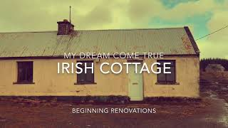 I Dream Of Ireland 🇮🇪 Renovating A Traditional Irish Stone Cottage In County Mayo.