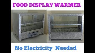 DIY FOOD DISPLAY WARMER