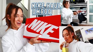 nike haul + cleaning for the 10000x by Alisha Marie Vlogs