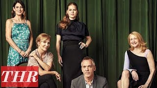 'Sharp Objects' Closer Look With Amy Adams, Gillian Flynn, Marti Noxon, Patricia Clarkson   THR