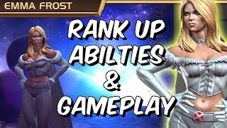 Emma Frost Rank Up, Abilities & Gameplay - Mutant Goddess? - Marvel Contest Of Champions