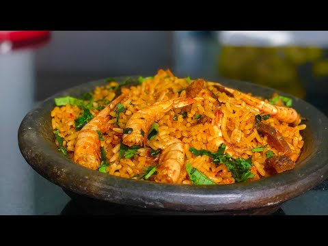 Native Palm Oil  JOLLOF RICE