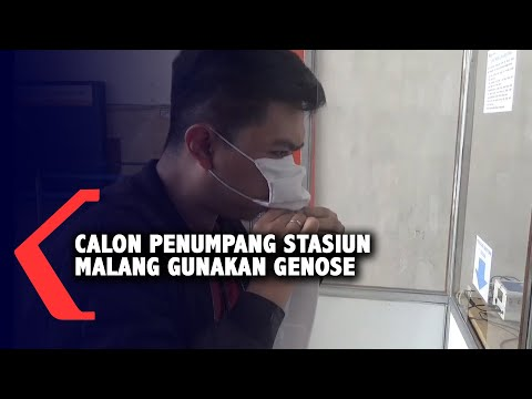 Stasiun Malang Mulai Gunakan GeNose Bagi Calon Penumpang
