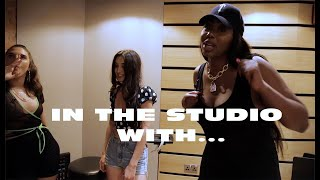 In The Studio With Mae Muller, Ms Banks And Caitlyn Scarlett (Drama Behind The Scenes)