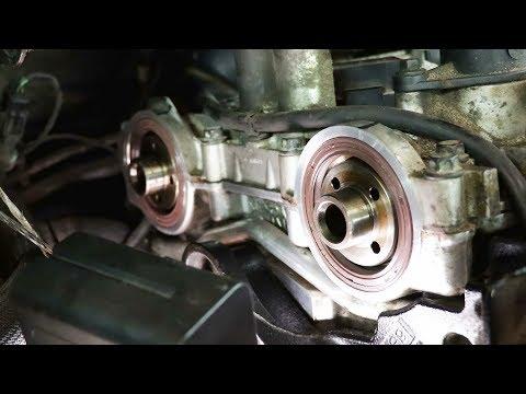 Фото к видео: Замена ГРМ на Ford S-Max 2.5T