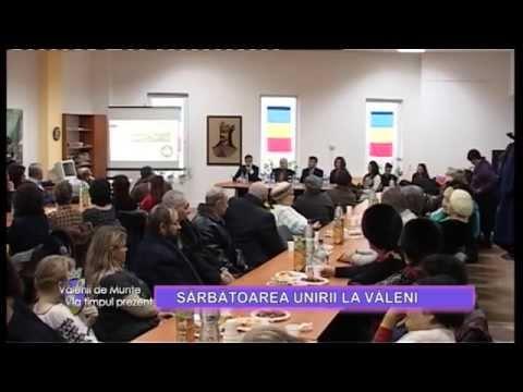 Emisiunea Vălenii de Munte la timpul prezent – Sărbătoarea unirii la Văleni – 30 ianuarie 2015