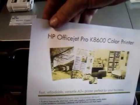 Assistência Técnica a impressora HP Officejet Pro K8600
