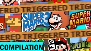 The Classic 2D Mario TRIGGERS You Compilation!