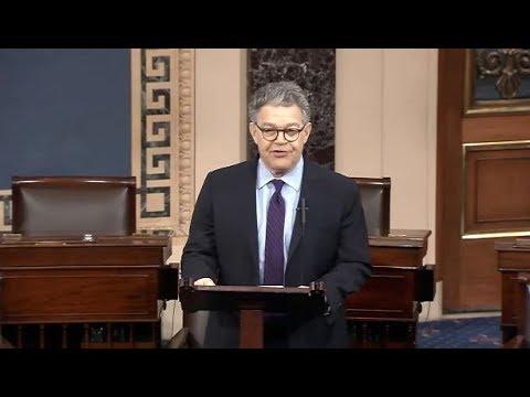 Al Franken Resigns From The U.S. Senate (Full Address)