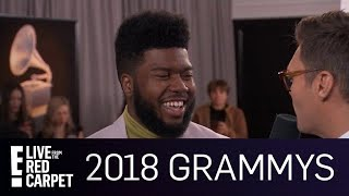 Khalid Talks Multiple 2018 Grammys Nominations | E! Live from the Red Carpet